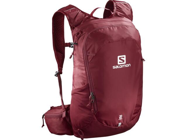 Salomon Trailblazer 20 Backpack biking red/ebony
